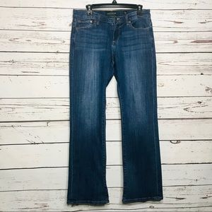 Lucky Brand Dark Wash Easy Rider Ankle Jeans